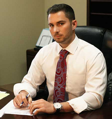 Criminal Defense Attorney Lewis Fusco at this Jacksonville, Florida desk