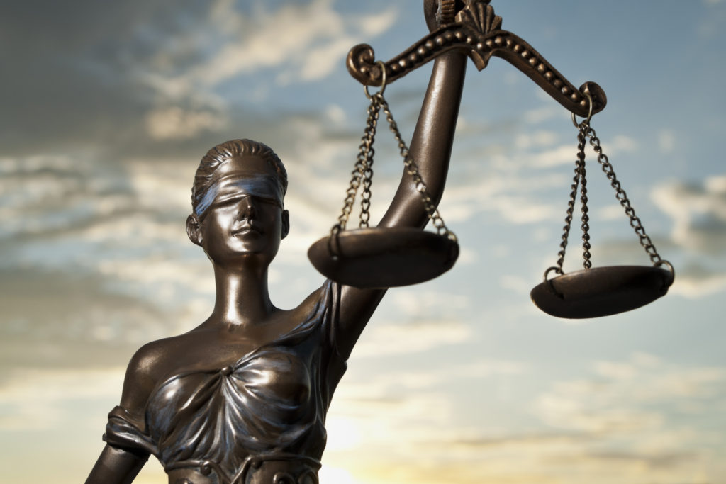 """""""Blind Lady Justice"""""""